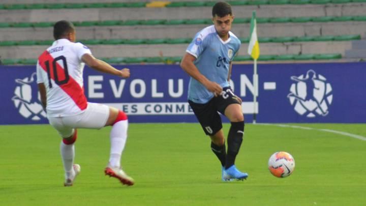 Peru 0 1 Uruguay Goles Resumen Y Resultado As Peru