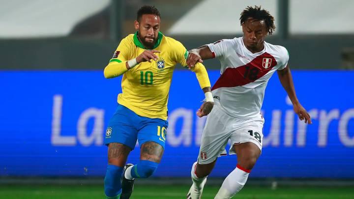 Perú protestó el penal de Yotún y el VAR anuló un gol a Neymar - AS Perú